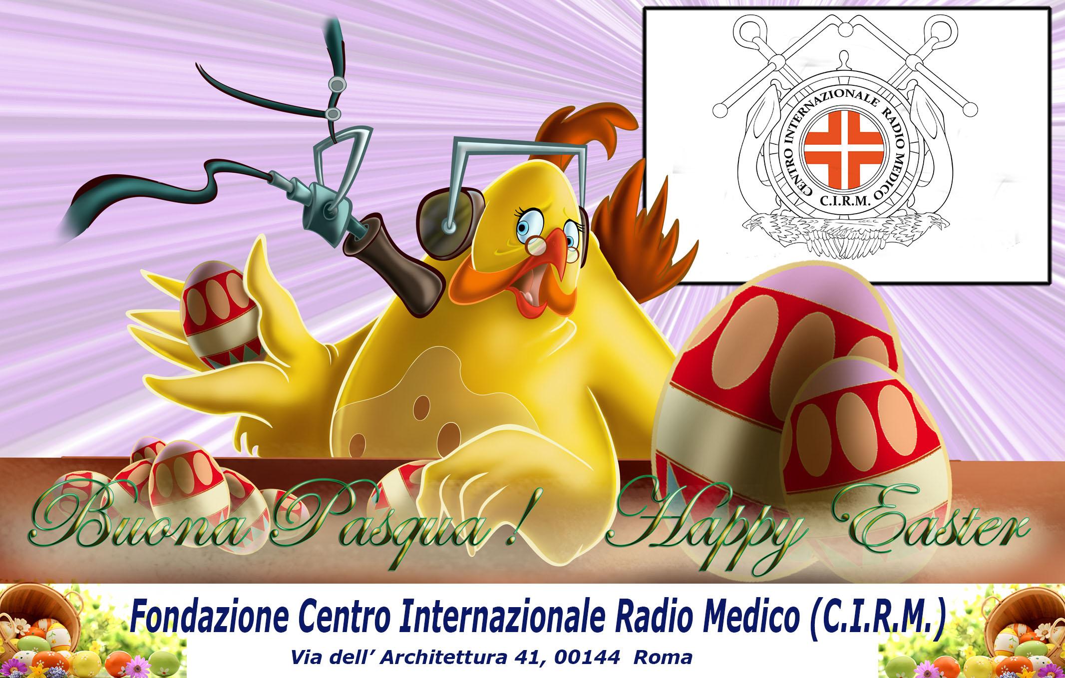 Buona Pasqua dal C.I.R.M.